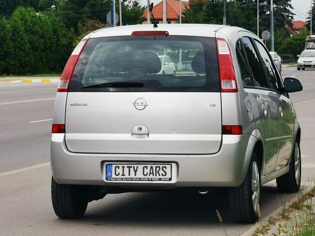 Opel Meriva 1.6 B 100 KM Jedyne 140 tys. km Klimatron z Niemiec Rzeszów - zdjęcie 3