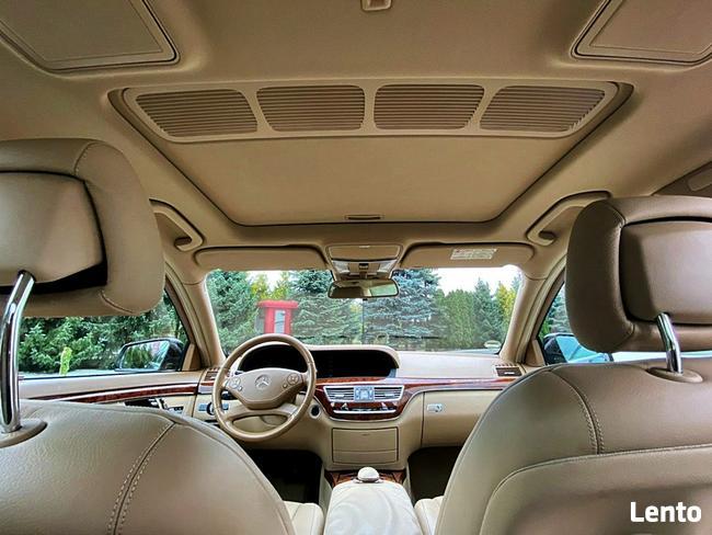 Mercedes S 350 258km lift skóra xenon szyber radar kamera top ful Bugaj - zdjęcie 8