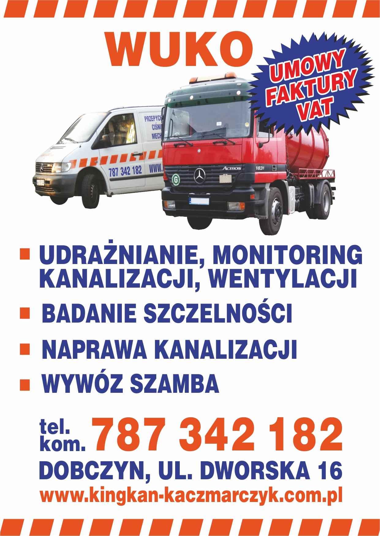 odtykanie rur kanalizacji, Wuko Pomoc kanalizacyjna monitoring kamerą Wołomin - zdjęcie 1