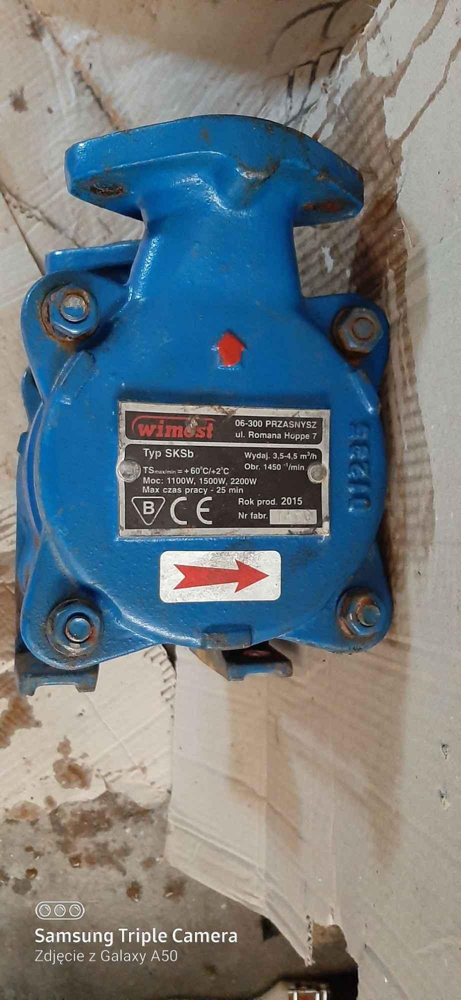 Pompa samozasysająca SKS-b32 Łomża - zdjęcie 1