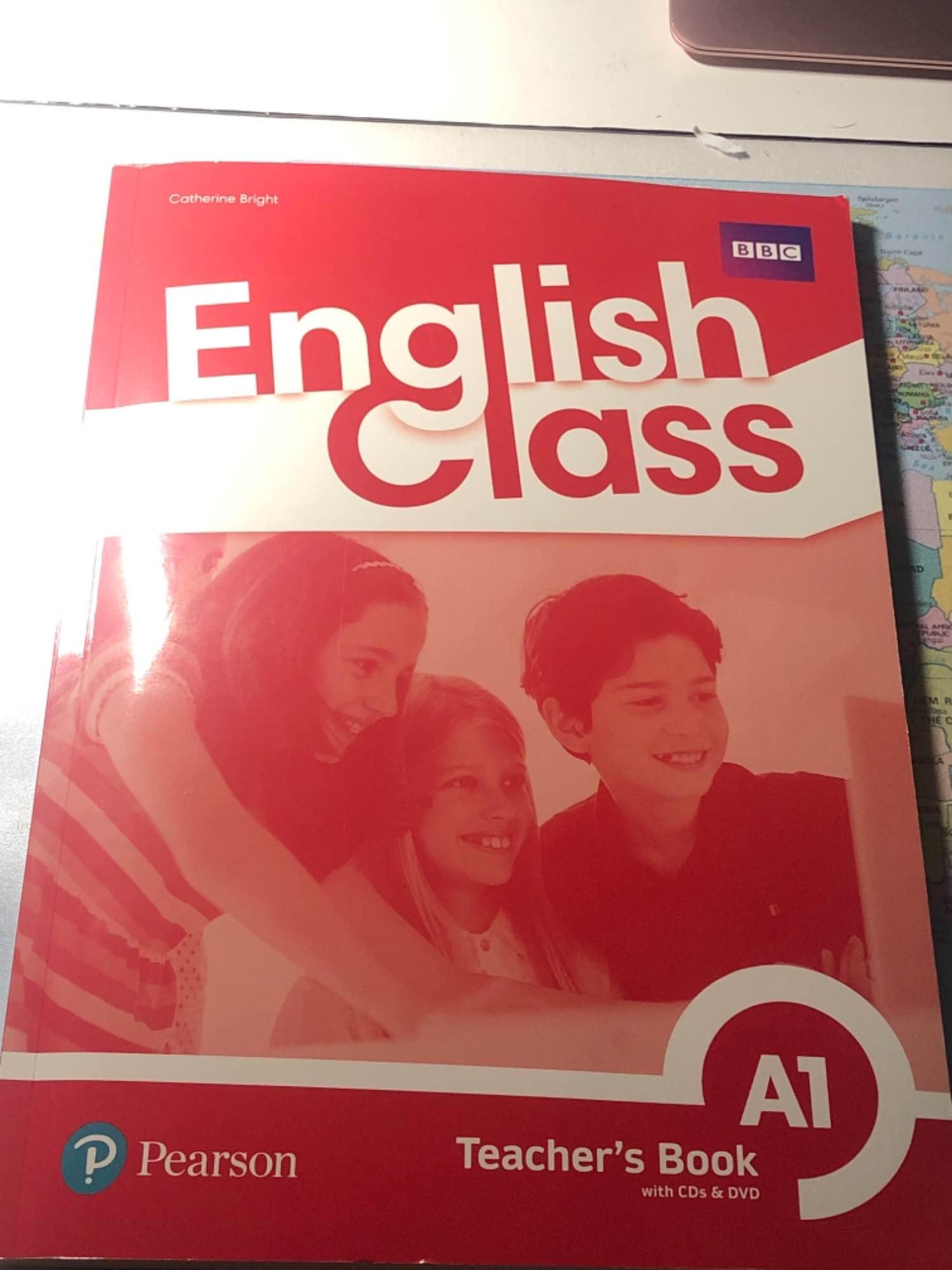 Książka nauczyciela z angielskiego English Class A1 Słubice - zdjęcie 1
