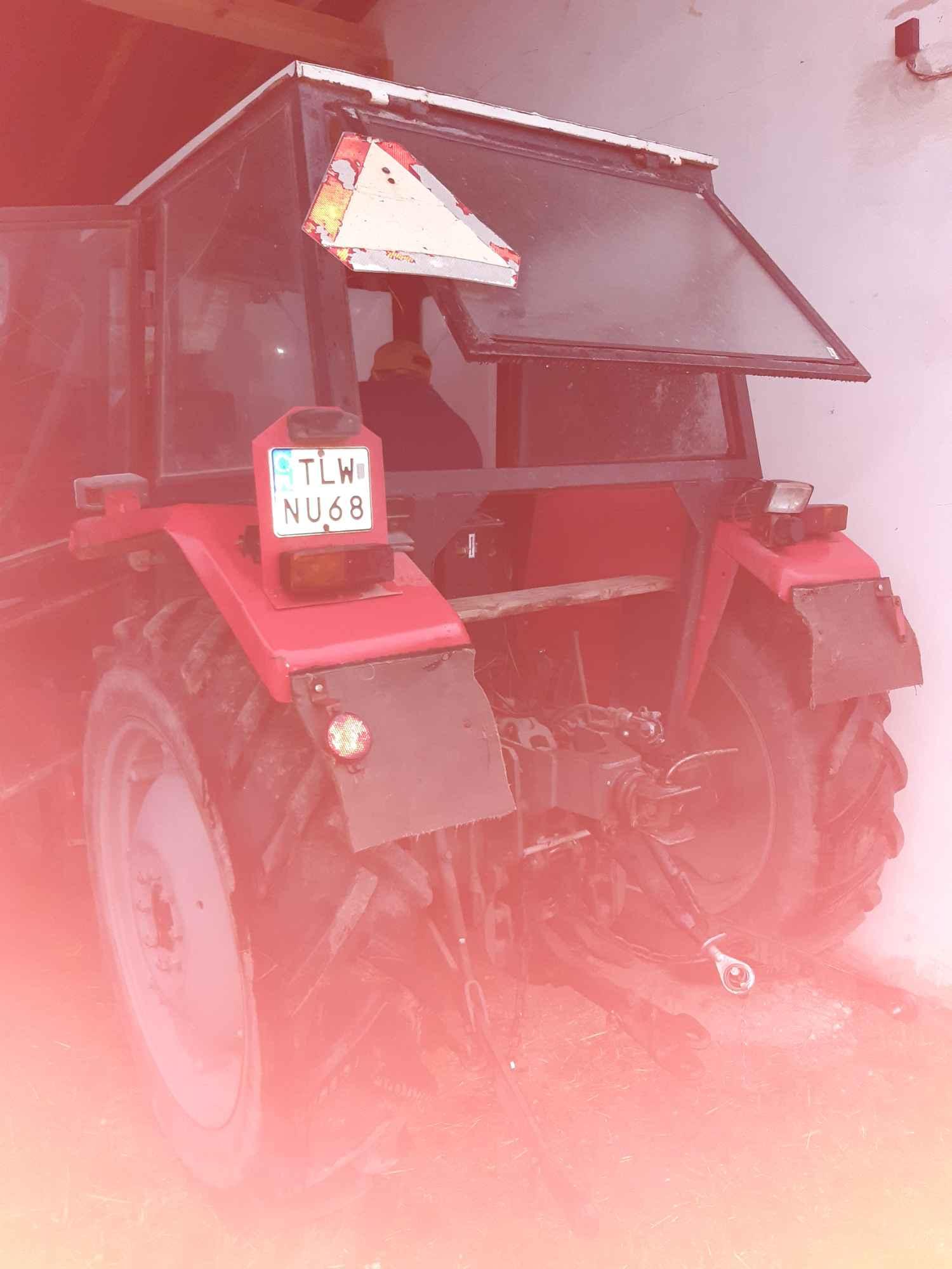 Sprzedam ciągnik MF 255 Kolonia Bobrowska Wola - zdjęcie 5