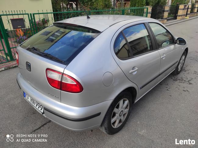 Seat Leon 2003 Rok 1.6 benzyna 105-km Ostrowiec Świętokrzyski - zdjęcie 2