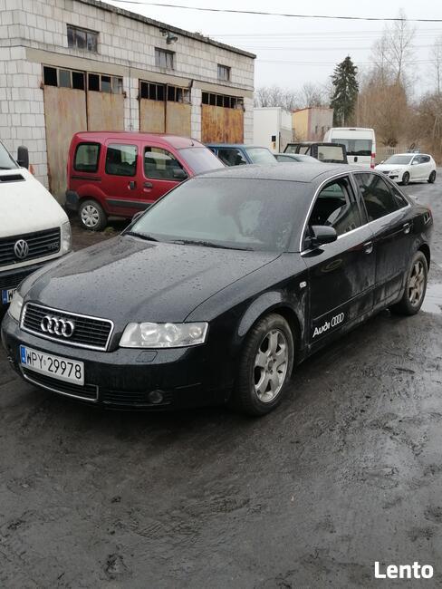 Audi A4 B6 full opcja Bogate wyposażenie czarna skóra Warto! Rusinów - zdjęcie 2