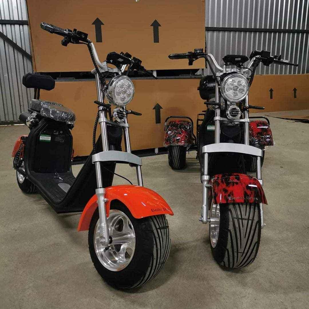 3000 Watts Newest fat Tyre  Citycoco Electric Scooter Zabagnie - zdjęcie 1