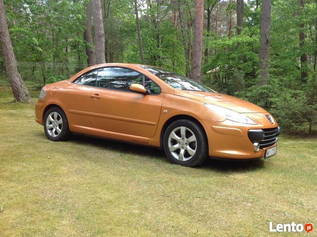 Kabriolet Peugeot 307 CC Śródmieście - zdjęcie 5