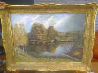 Obraz olejny Bemowo - zdjęcie 1