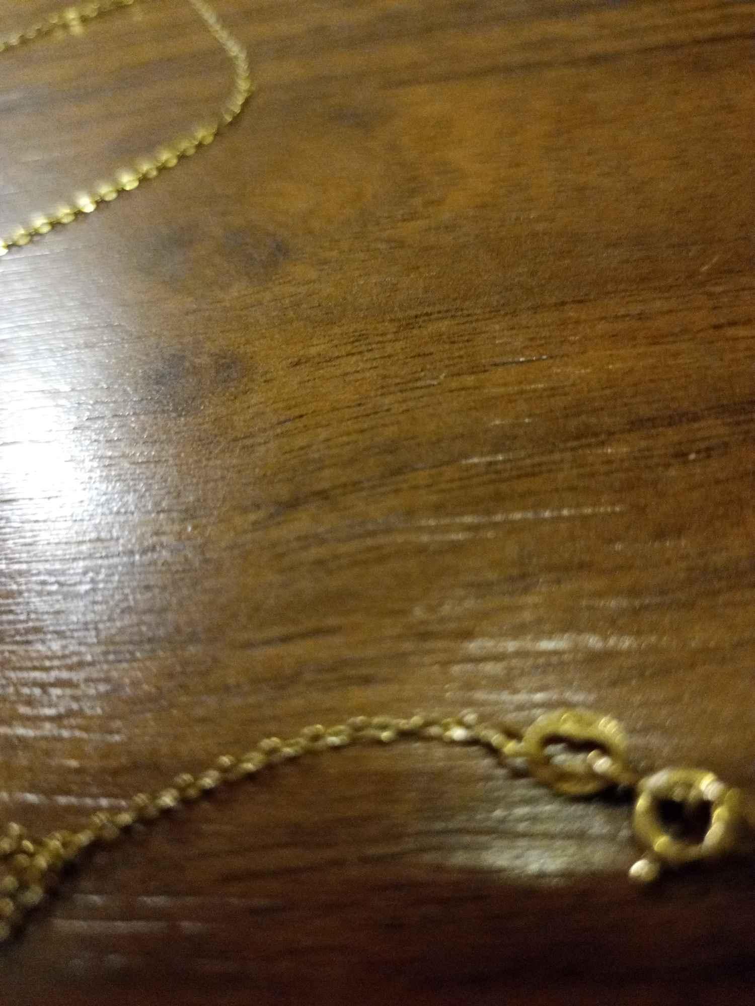 Złoty łańcuszek próba 750 Gdańsk - zdjęcie 2