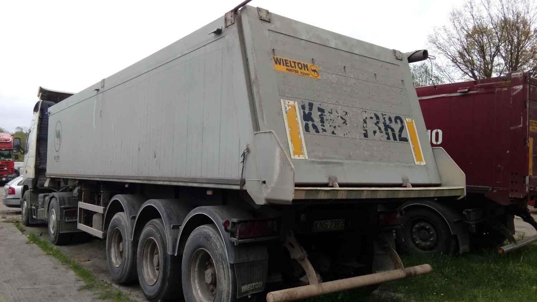 Używana naczepa / wywrotka WIELTON w bd. stanie (Rudzienko) Rudzienko - zdjęcie 2