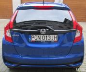 Honda Jazz Elegance 1,3 i-VTEC automat CVT niebieski metalik Gniezno - zdjęcie 4