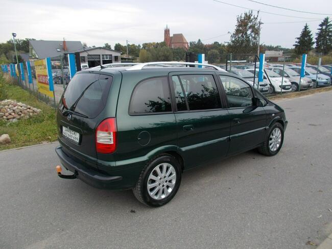 Opel Zafira Opłacona Zdrowa Zadbana Bogato Wyposażona 100 Aut na Placu Kisielice - zdjęcie 4