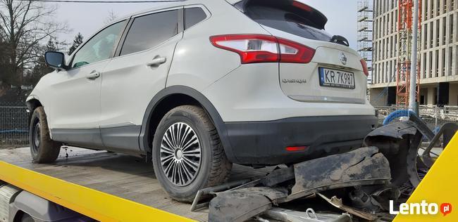 Sprzedam Nissan Qashqai Conect 1,6 benzyna 2016 uszkodzony Kraków - zdjęcie 1