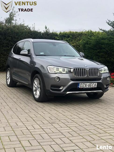BMW X3 30D XDrive XLine 2017 (23% VAT) Kłodzko - zdjęcie 3
