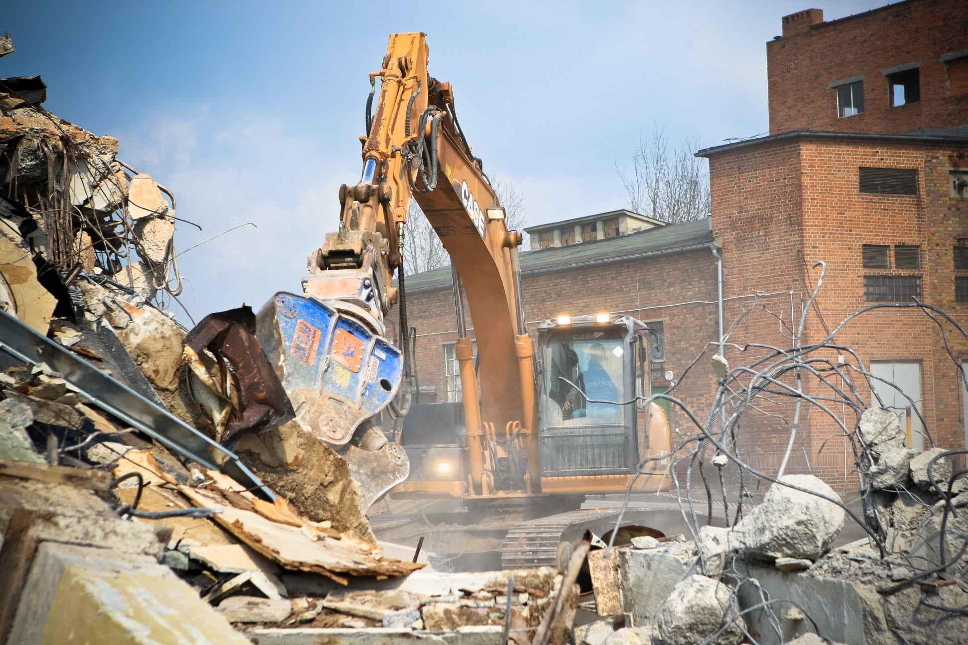 Szczęka szczęki kruszące pulweryzator kruszer do wyburzeń Koszalin - zdjęcie 3