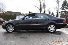 Mercedes W220  320 CDI - SALON POLSKA, KLIMA,XENNON,SKÓRY, NAVI Nowy Sącz - zdjęcie 4
