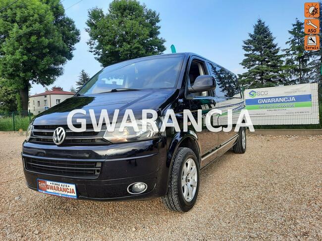 Volkswagen Caravelle wersja long .  bogata wersja. 9 -osobowa Chełm Śląski - zdjęcie 1