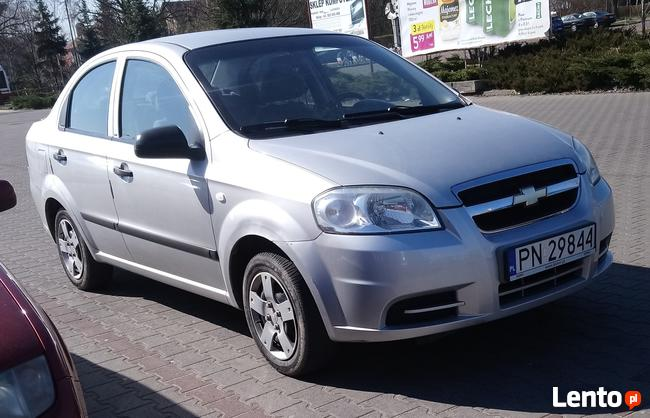 Chevrolet aveo sedan I WŁAŚCICIEL kupiony w salonie Konin - zdjęcie 1