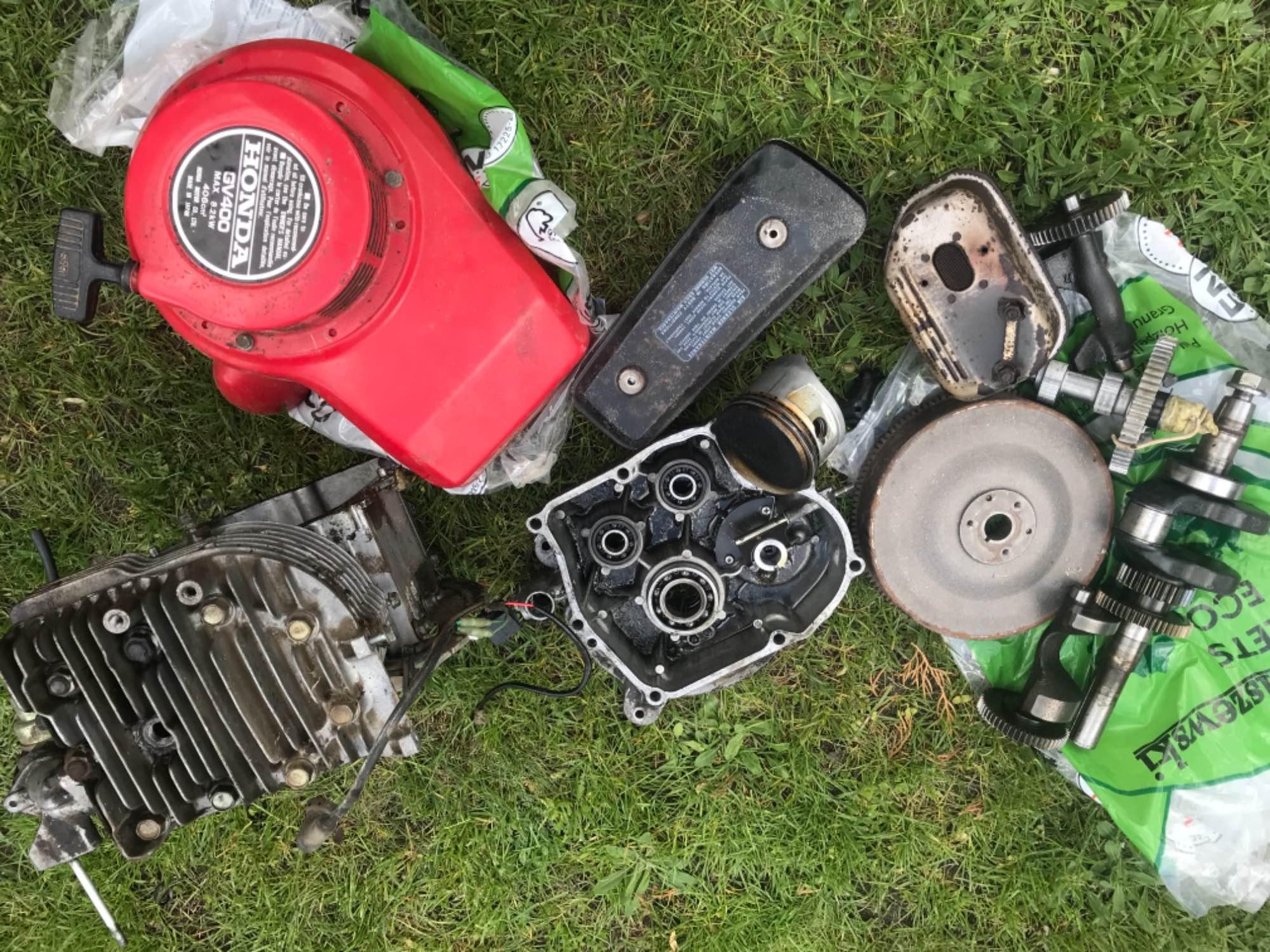 Silnik Honda gv400 Bielsk Podlaski - zdjęcie 2