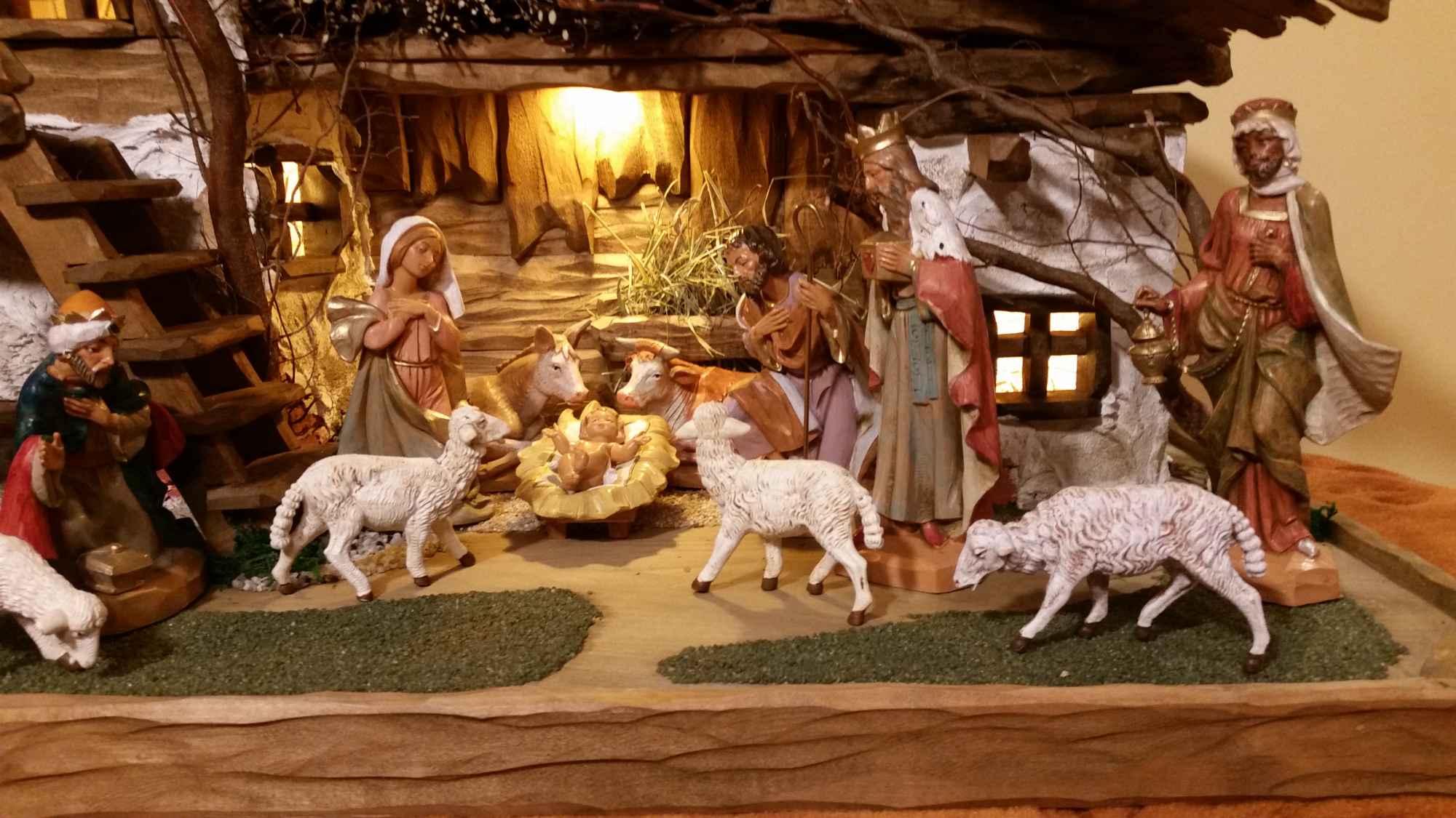 Szopka stajenka Bożonarodzeniowa Żywiec - zdjęcie 2