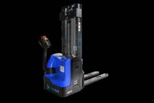 Wózek widłowy podnośnikowy Maglo z napędem elektrycznym Bałuty - zdjęcie 1