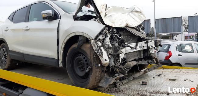 Sprzedam Nissan Qashqai Conect 1,6 benzyna 2016 uszkodzony Kraków - zdjęcie 5