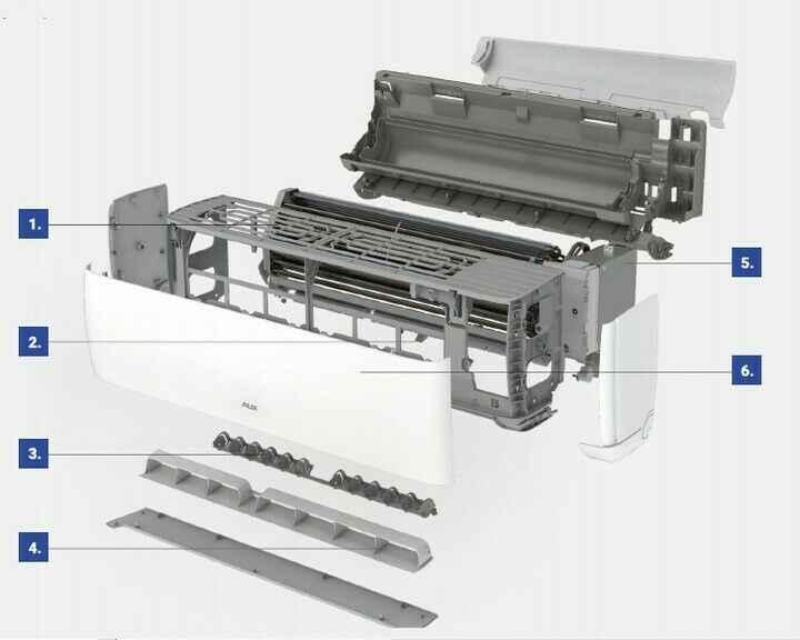 KLIMATYZATOR POKOJOWY AUX J-SMART SERIA JO o mocy 3,6 kW Z MONTAŻEM Fabryczna - zdjęcie 5
