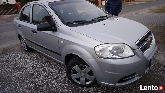 Chevrolet aveo sedan I WŁAŚCICIEL kupiony w salonie Konin - zdjęcie 3