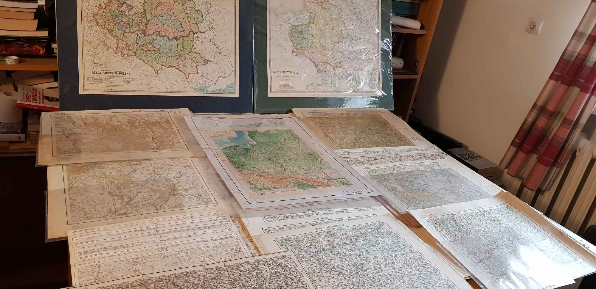 Sprzedam lub wymienie stare  , oryginalne mapy sztabowe  ziem polskich Mazowsze - zdjęcie 1