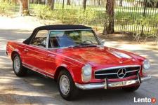 rok 1965 Mercedes-Benz SL230 Pagoda Cabrio Legnica - zdjęcie 3