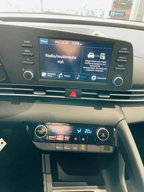 Hyundai Elantra Nowa 1.6 MPI 6MT SMART Łódź - zdjęcie 10