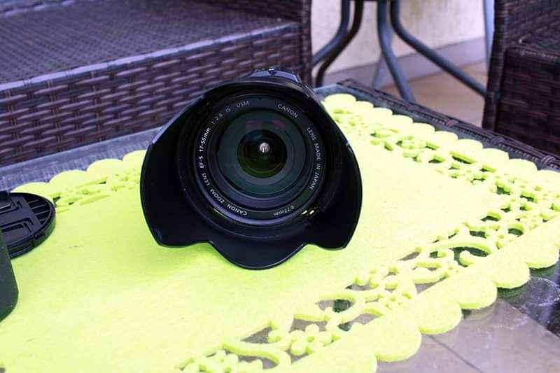Obiektyw Canon EF-S 17-55mm f/2,8 IS USM+osłona Bogaczewo - zdjęcie 1