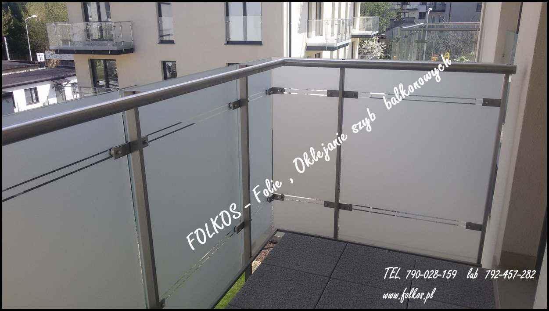 Folie na balkon-Oklejanie balkonów Błonie,Ożarów Mazowiecki i okolice Błonie - zdjęcie 2