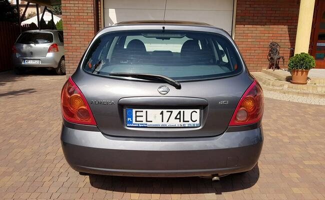 Nissan Almera SALON PL,  zadbany. !! Aleksandrów Łódzki - zdjęcie 9