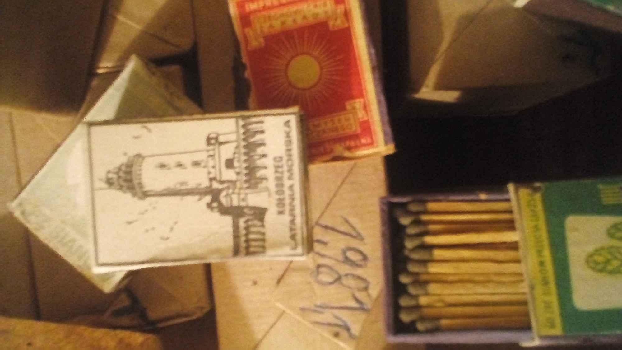 Zapalki z lat 60 Inowrocław - zdjęcie 1