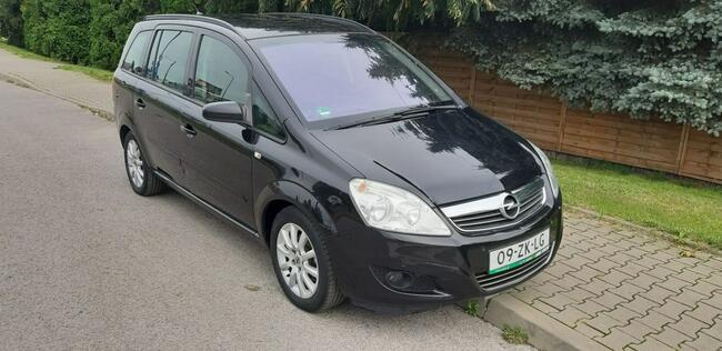 Opel Zafira Piękna Benzynka idealna do gazu 7 Miejsc LIFT Lublin - zdjęcie 2