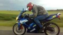 MOTOCYKL YAMAHA TZR 50/80 2006r. - VALENTINO ROSSI -SUPER STAN Kielce - zdjęcie 3
