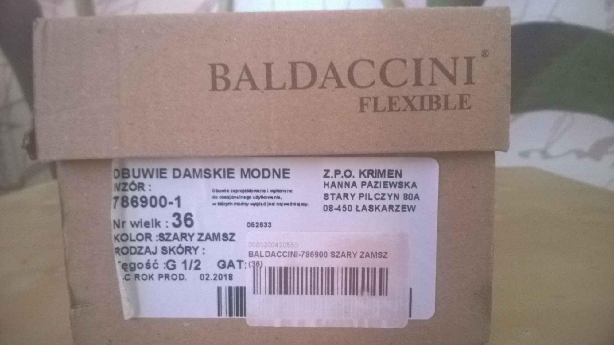 Baleriny Baldaccini Nowe r. 36 Grunwald - zdjęcie 4