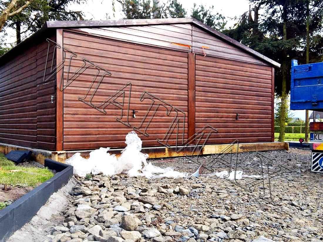 Garaże blaszane, blaszaki, schowki budowlane, kojce,wiaty, hale. Szczecin - zdjęcie 12