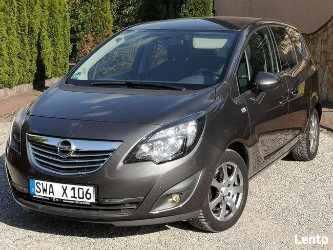 Opel Meriva 1.4T 2011r, Bogata Opcja, Przebieg 120tys, Półskóra, Chrom Radom - zdjęcie 1