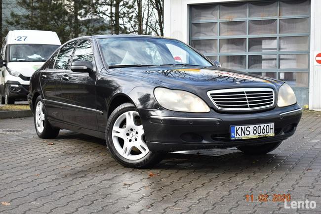 Mercedes W220  320 CDI - SALON POLSKA, KLIMA,XENNON,SKÓRY, NAVI Nowy Sącz - zdjęcie 1