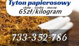 Tytoń rozne rodzaje, bez kolkow! 65zl/kilogram Bemowo - zdjęcie 1