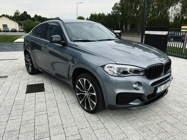 * BMW X6 XDRIVE40D * MSPORT* 313KM * 2018/2019 * 3.0 DIESEL Skórnice - zdjęcie 2