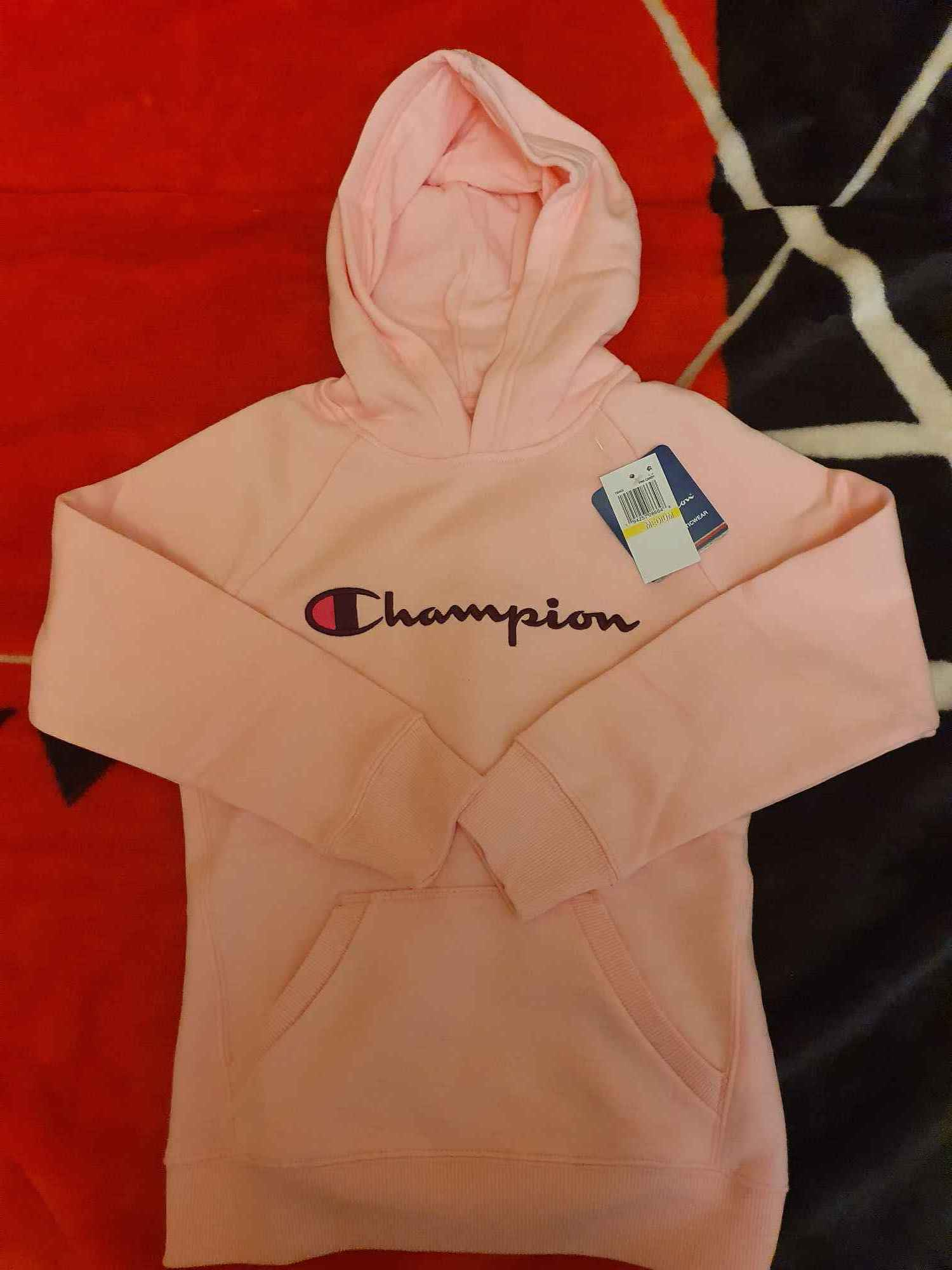 Bluza różowa Champion Rozmiar M  - 13 lat Włocławek - zdjęcie 2