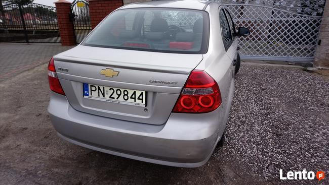 Chevrolet aveo sedan I WŁAŚCICIEL kupiony w salonie Konin - zdjęcie 2