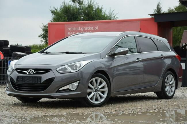 Hyundai i40 Opłacony 1.7CRDI 136KM Serwis Kamera Navi Led Gwara Kutno - zdjęcie 9
