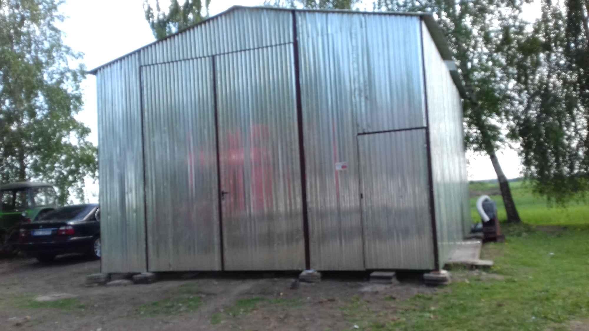 Garaże blaszane, blaszaki, schowki budowlane, kojce,wiaty, hale. Szczecin - zdjęcie 6