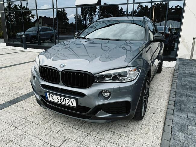 * BMW X6 XDRIVE40D * MSPORT* 313KM * 2018/2019 * 3.0 DIESEL Skórnice - zdjęcie 6