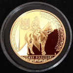 medal PIŁSUDSKI NACZELNIKIEM PAŃSTWA Wierzbica Górna - zdjęcie 1
