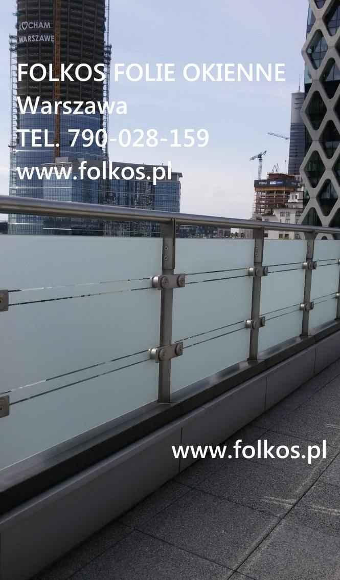 Folie na balkon-Oklejanie balkonów Błonie,Ożarów Mazowiecki i okolice Błonie - zdjęcie 5