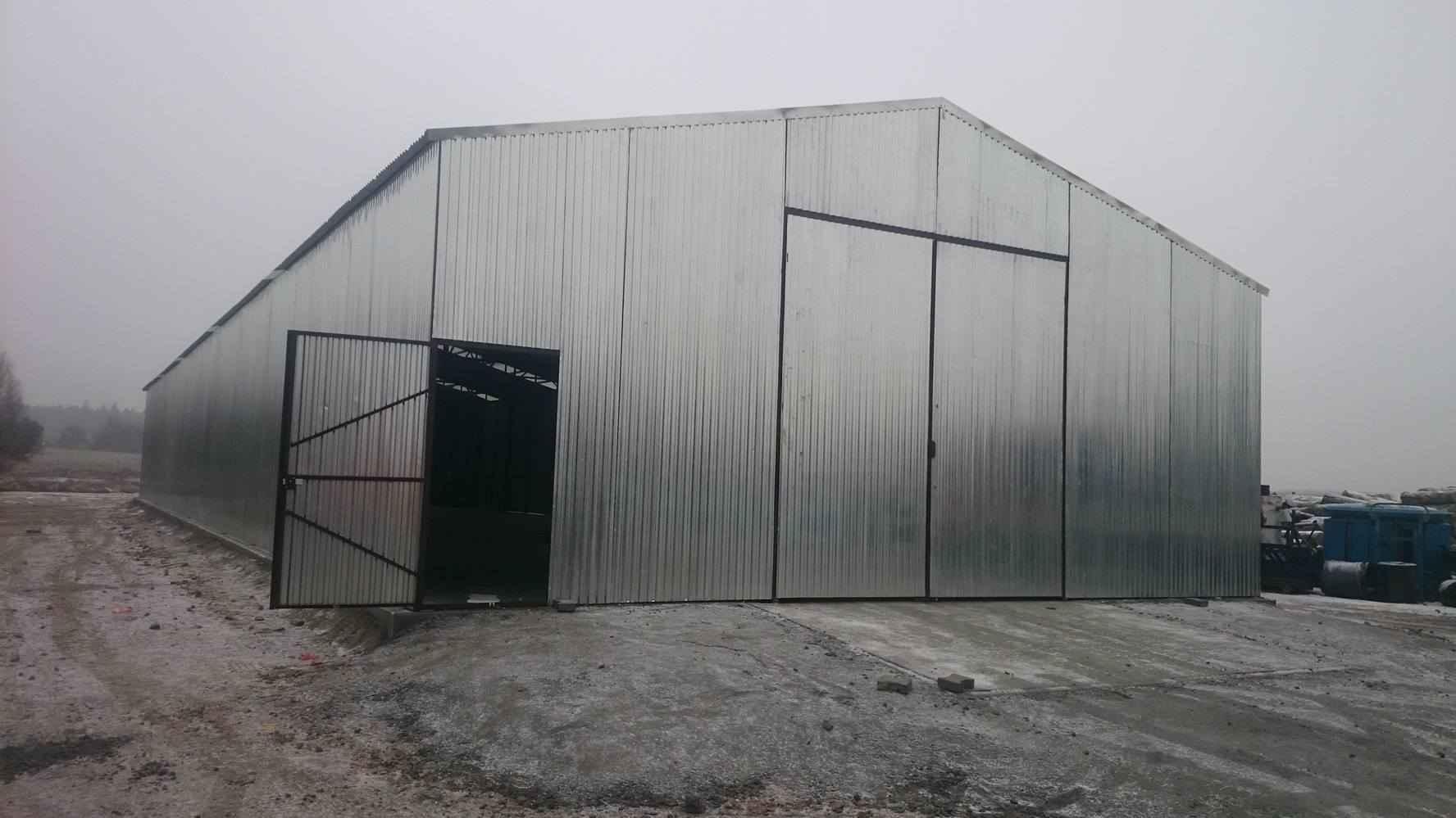 Garaże blaszane, blaszaki, schowki budowlane, kojce,wiaty, hale. Szczecin - zdjęcie 3